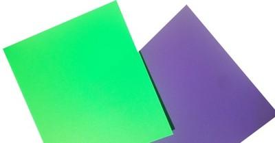 Folia polipropylen PP ark 700x1000 fiolet zielony