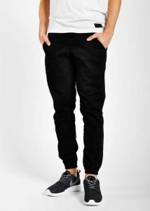 jogger spodnie czarne h&m 34 nowe rurki meskie