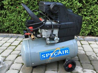 Kompresor olejowy Specair 24L + dodatkowy osprzęt