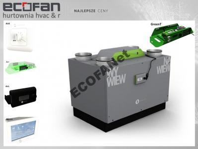 Rekuperator Centrala Thessla Green AirPack 300v