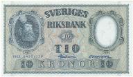 3956. Szwecja 10 kronor 1962 st.1-