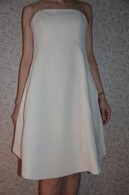 d49e2ac6f5 Nowa Sukienka La Mania Vala Cream r. 38 - 6709039159 - oficjalne ...