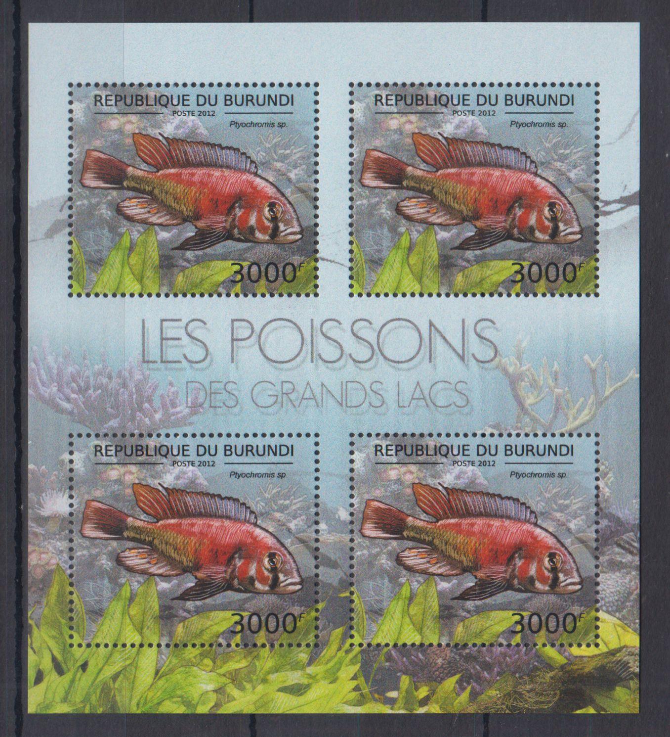 D13. MNH Burundi Wieloryby