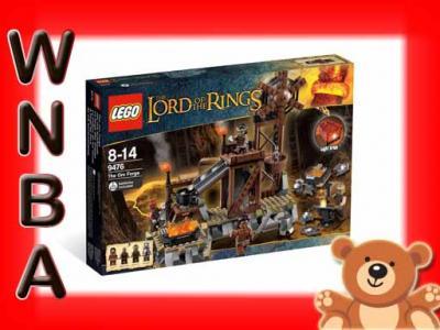 KLOCKI LEGO WLADCA PIERSCIENI  KUŹNIA ORKÓW 9476