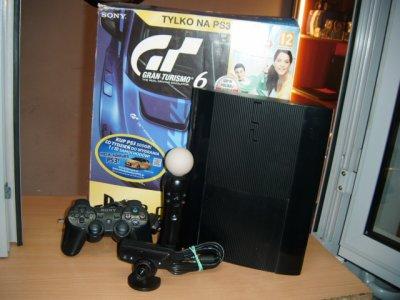 KONSOLA PLAYSTATION 3 500GB + PAD/MOVE/EYE