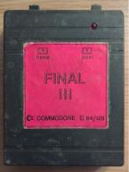 Kartridz Commodore C64 Final Cartridge III