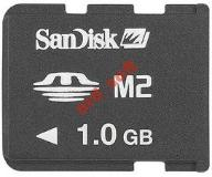 SANDISK M2 MEMORY STICK MICRO 1GB Nowy Blister FV