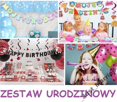0547adddce555d Zestaw urodzinowy na 1 2 3 4 5 6 7 8 9 urodziny - 6307157919 ...