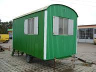 Barakowóz barak kontener socjalny budowlany 4,0m