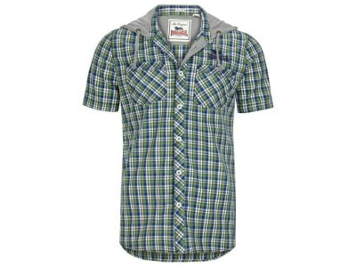 Koszula Z Kapturem Bletchley LONSDALE od PUNCH XL