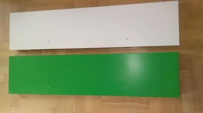 Półki ścienne Ikea 6606349887 Oficjalne Archiwum Allegro