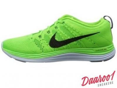 Buty Nike M?skie Nike Air Max Tavas Flyknit CzarnyZielony