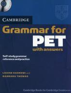 Cambridge Grammar for PET with answers + CD [Hashe