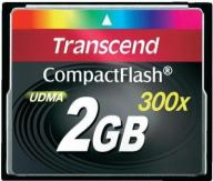 NOWA KARTA CF  TRANSCEND  2GB 300x SPEED UDMA