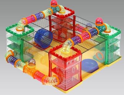 Zaktualizowano FOP - Plac zabaw dla chomika HAMSTERLAND 60x60x25. - 6988439389 PJ71