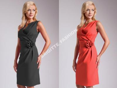 f366e85f71 Suknia Z Różą Sukienki Bal Sylwester Wesela R 50 - 3677386107 ...