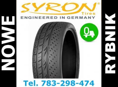 HIT ! 4x 225/40ZR18 opony street race SYRON - 6023070513 ...