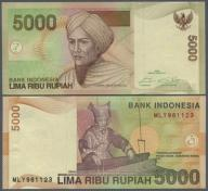 ### INDONEZJA - P142new - 2016 - 5000 RUPII
