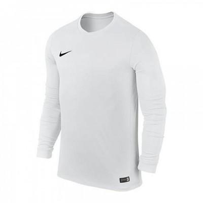 Koszulka NIKE Park VI LS Junior biała 152 cm 6396425199