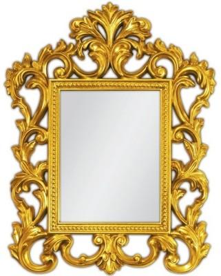 Lustro Złote Lustro Dekoracyjne Lustro W Stylowe