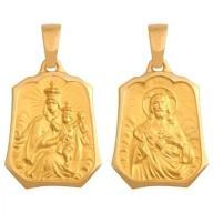 Wisiorek Złoty medalik próba 585