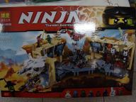 klocki do układania ninja 1310 części