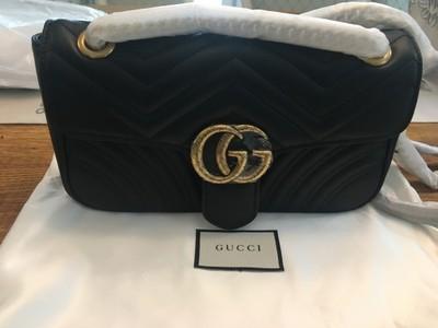 6a909b53ba965 torebka Gucci GG Marmont matelasse rozmiar Small - 6904897626 ...