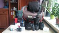 Sony Alfa 37 + 28mm, 50mm, 18-200mm, 70-300mm