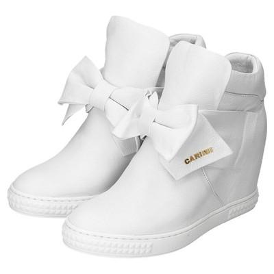 Sneakersy na koturnie CARINII buty damskie r 38 Ceny i
