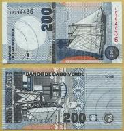 -- CAPE CABO VERDE 200 ESCUDOS 2005 LP P68 UNC