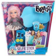 BRATZ SELFIE STICK + CLOE śliczna lalka i kijek