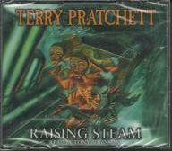 RAISING STEAM TERRY PRATCHETT 4xCD AUDIOBOOK NOWY