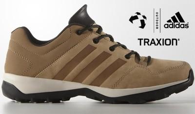 buty męskie adidas daroga plus outdoor skóra camel