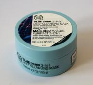 THE BODY SHOP_BLUE CORN 3 in 1 DEEP PURYFYING MASK