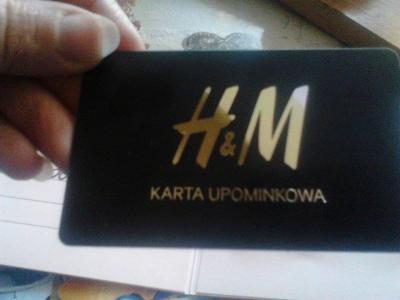Karta Upominkowa 1000 Do H M 5256403117 Oficjalne Archiwum Allegro