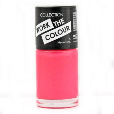 COLLECTION WORK THE COLOURW NEON PINK 5