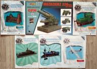 modele kartonowe GPM 445 Moździeż +5szt ŚzK