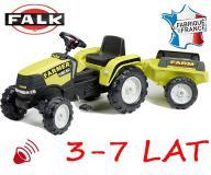 FALK Traktor FARM z przyczepą
