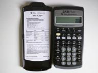 Texas Instruments TI BA II PLUS CFA DI ~wawa~