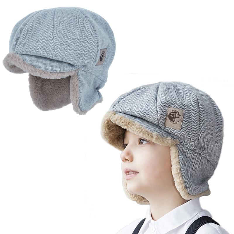 48b786da73339b PUPILL-czapka czapeczka chłopiec futro zima daszek - 7034057659 ...