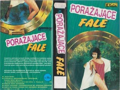 [VHS-1017] PORAŻAJĄCE FALE (SHOCK WAVES) - rarytas