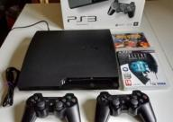 PLAYSTATION 3 KONSOLA PS3 160GB 2 PADY GRY GRATIS!