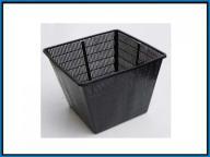 Doniczka do roślin sadzawkowych - kwadrat 35x35cm
