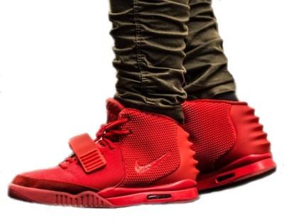 czerwone buty nike wysokie