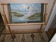 RAMA HAFCIARSKA DUZA 105 x 96 cm + KANWA (ZACZETA)