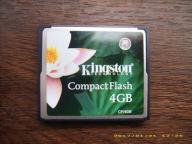 Kingston CompactFlash CF 4GB - karta pamięci