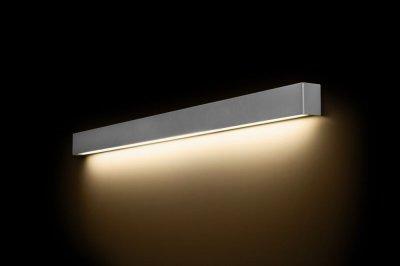 Lampa Kinkiet Nad Lustro Do łazienki Srebrny 120cm 6428155558
