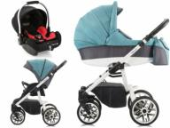 WÓZEK HOLLAND BEBETTO 3w1  + BASSET BABY SAFE
