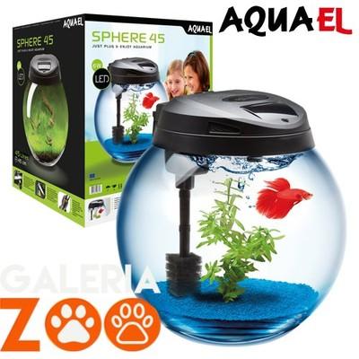 Aquael Sphere 45 Akwarium Zestaw Kula 45l 113443 6437396171 Oficjalne Archiwum Allegro