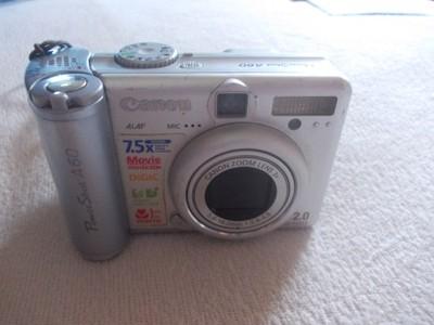 Aparat foto Canon PowerShot A60/niesprawny/